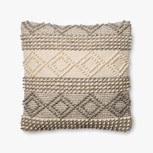 P0460 MH Grey / Ivory Pillow