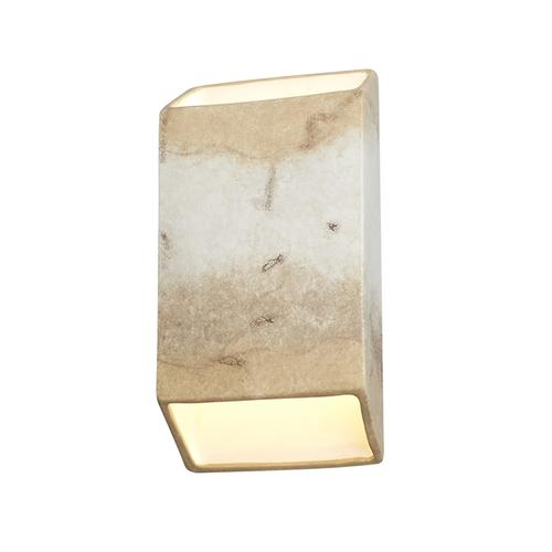 Large ADA Tapered Rectangle LED Wall Sconce (Open Top & Bottom)