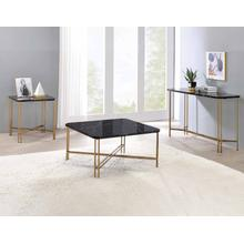 View Product - Daxton Faux-Marble 3-Piece Occasional Set (Cocktail & 2 End Tables)
