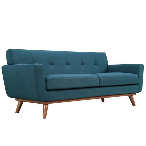 Modway - Engage Loveseat and Sofa Set of 2 in Azure