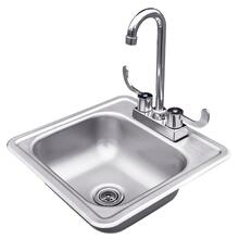 Stainless Sink & Faucet - RSNK1