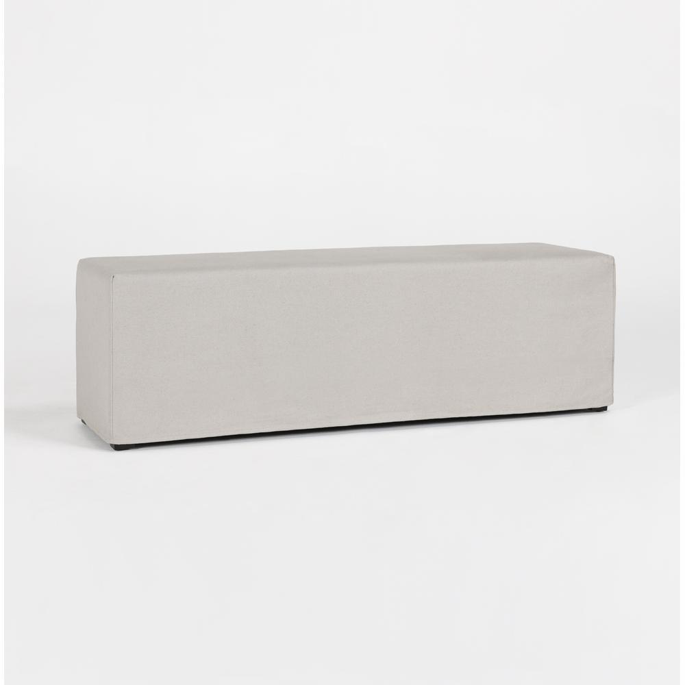 See Details - Viola Slipcover Bench