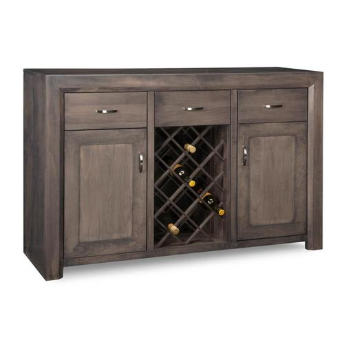- Contempo Sideboard with Wine Rack