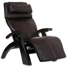Perfect Chair PC-LiVE™ - Espresso Premium Leather - Matte Black