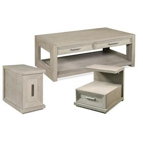 Cascade - Rectangular Side Table - Dovetail Finish