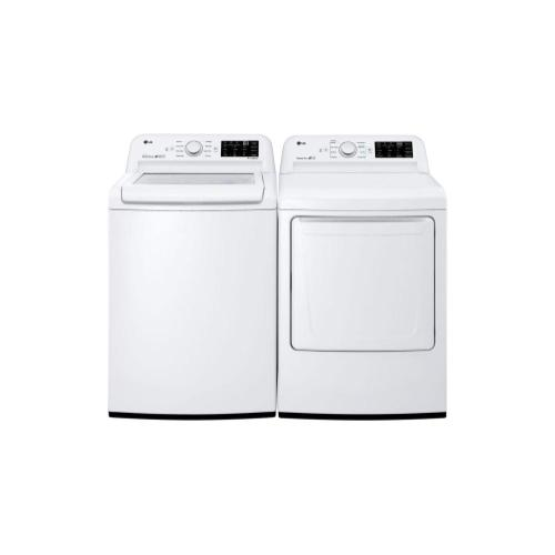 LG - 7.3 cu. ft. Electric Dryer with Sensor Dry Technology