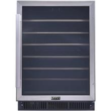 Galanz 47-Bottle Built-In Wine Cooler in Stainless Steel