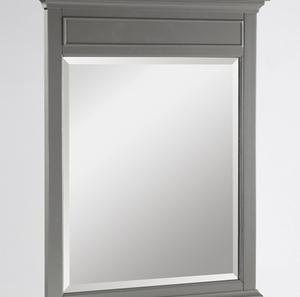 "Smithfield 28"" Mirror - Medium Gray Product Image"