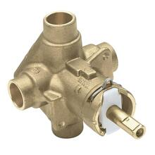 "M-Pact posi-temp® 1/2"" cc connection includes pressure balancing"