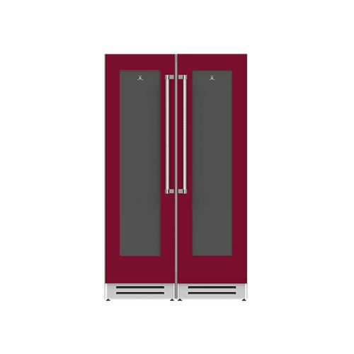 "Hestan - 48"" Wine Cellar Ensemble Refrigeration Suite - Tin-roof"