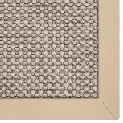 Tamarindo Grey 8'x10' / Sunbrella Border