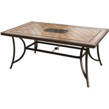 "Monaco 40""x68"" Porcelain Top Dining Table"