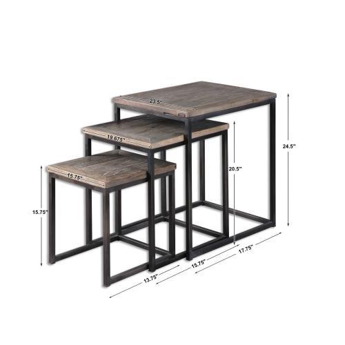 Bomani Nesting Tables, S/3