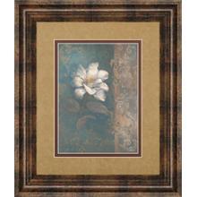 """Floral Trans I"" By Vivian Flasch Framed Print Wall Art"