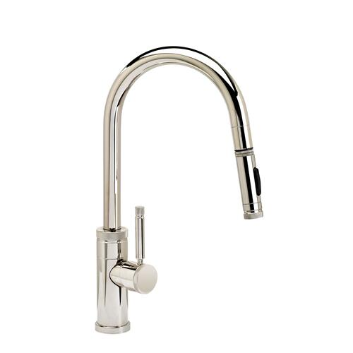 Industrial Prep Size PLP Pulldown Faucet - Angled Spout - 9910 - Waterstone Luxury Kitchen Faucets