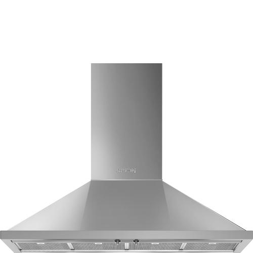 "48"" Portofino Chimney Hood, Stainless steel"