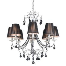 Humphreys Ceiling Lamp Black & Chrome