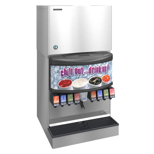 KMD-460MAJ, Crescent Cuber Icemaker, Air-cooled