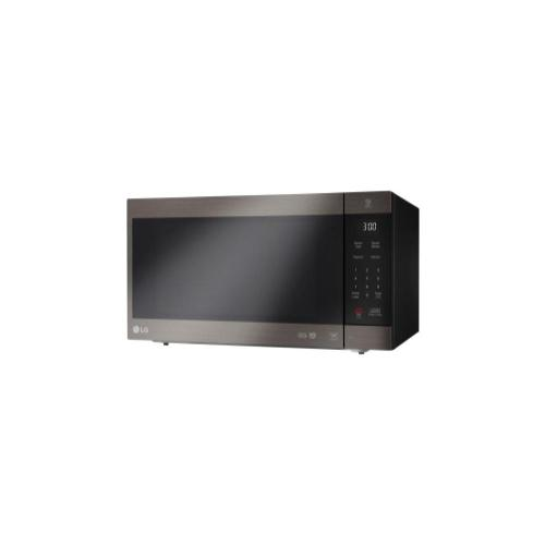 LG - LG Black Stainless Steel Series 2.0 cu. ft. NeoChef™ Countertop Microwave with Smart Inverter and EasyClean®