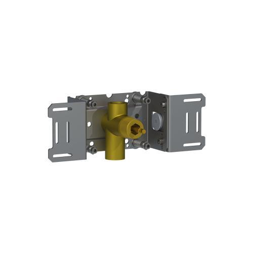 "Build-in stop valve, 3/4"""