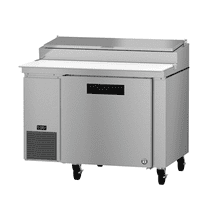 PR46A, Refrigerator, Single Section Pizza Prep Table, Stainless Door