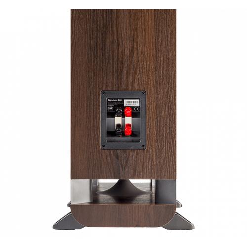 American HiFi Home Theater Tower Speaker in Classic Brown Walnut