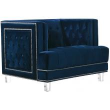 """Lucas Velvet Chair - 41"""" W x 35.5"""" D x 31.5"""" H"""