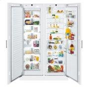 Freezer for integrated use with NoFrost Refrigerator with BioFresh for integrated use