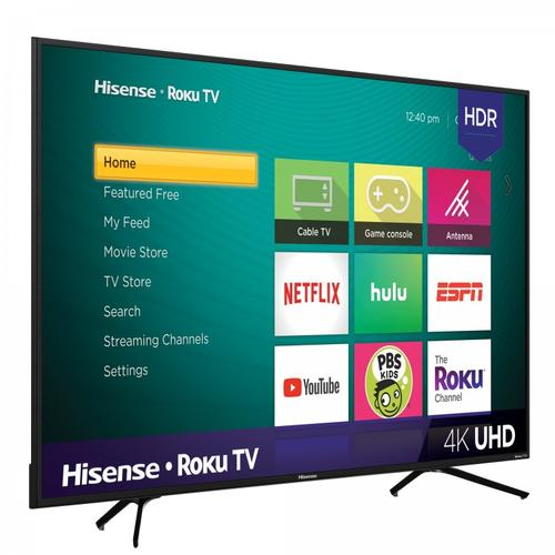 """65"""" Class - R7050 Series - 4K UHD Hisense Roku TV with HDR (2019) SUPPORT"""