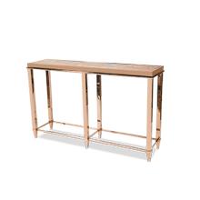 Mystique Console Table, 6Legs Rose Gold