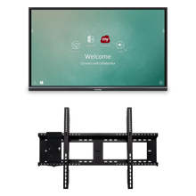 """See Details - 55"""" ViewBoard® Interactive Flat Panel Bundle with Wall Mount"""