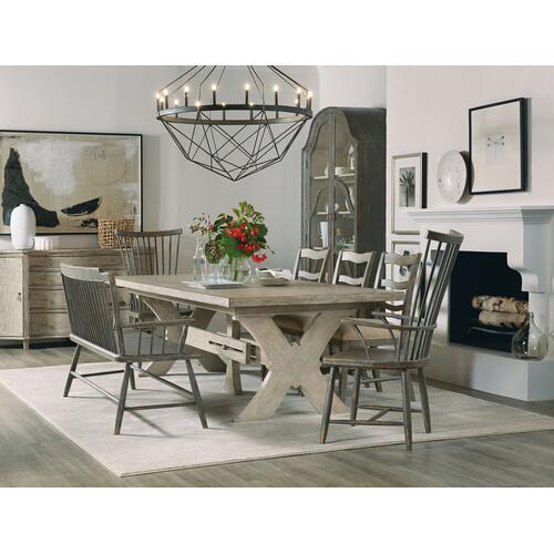 Product Image - Alfresco Vittorio 80in Rectangle Dining Table w/ 2-22in Leaves