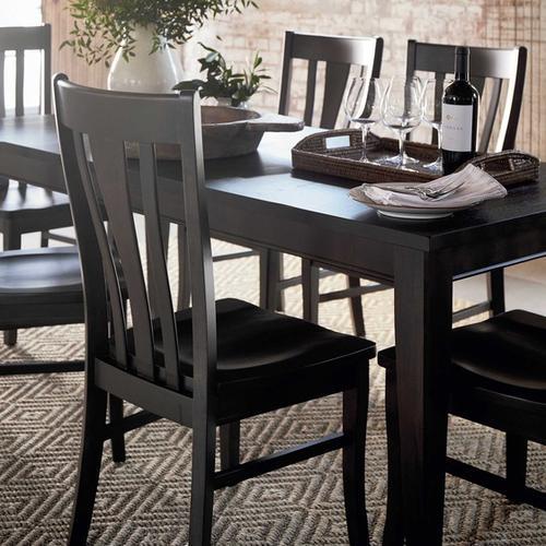 Bassett Furniture - Provisions Contemporary Leg Dining Table