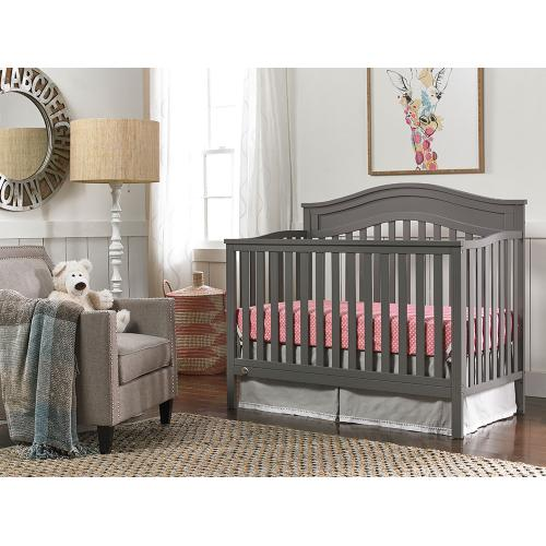 Fisher-Price Aubree Convertible Crib, Stormy Grey