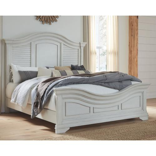 Teganville California King Panel Bed