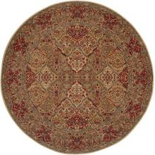 Empress Kirman Multi Round 8ft 8in X 8ft 8in