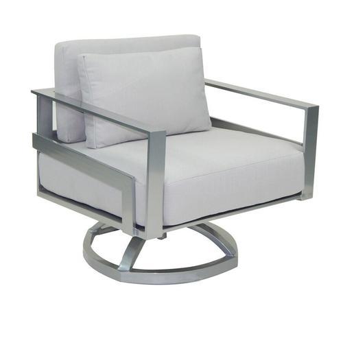 Castelle - Eclipse Cushioned Lounge Swivel Rocker