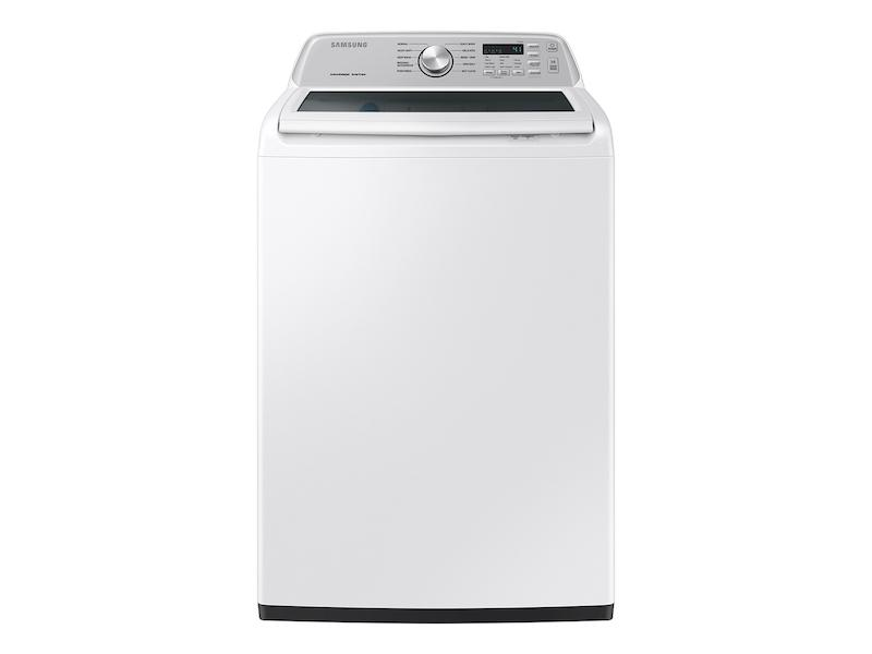 Samsung4.4 Cu. Ft. Top Load Washer With Activewave™ Agitator And Active Waterjet In White