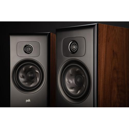 Legend Series Large Premium Bookshelf Speaker in Brown Walnut