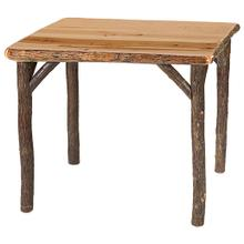 Game Table - 36-inch - Natural Hickory - Armor Finish
