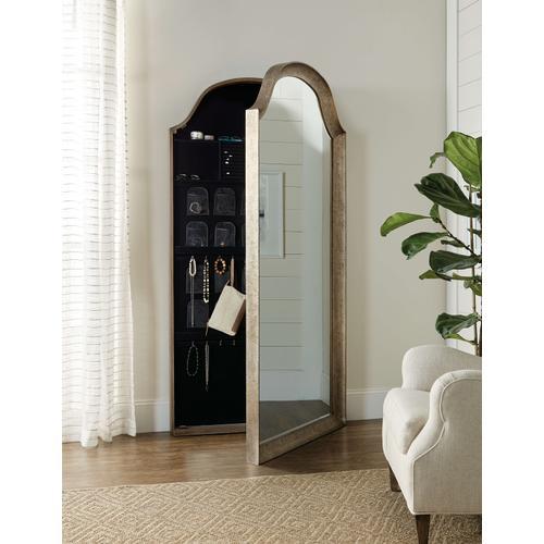 Alfresco Paradiso Floor Mirror w/ Jewelry Storage