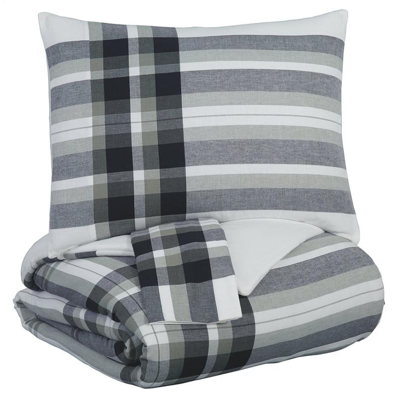 View Product - Stayner 3-piece King Comforter Set
