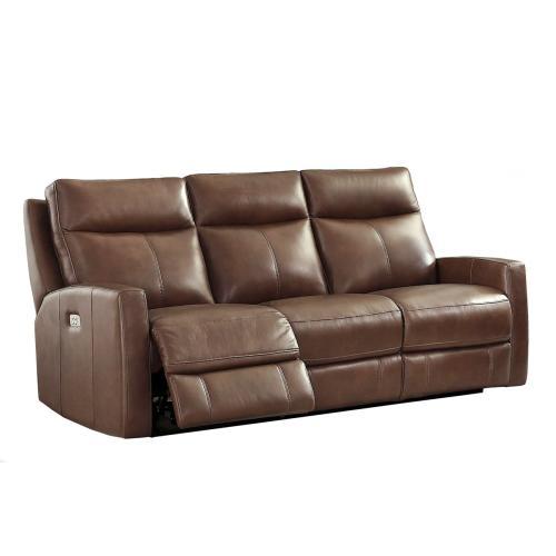 Power Reclining Sofa in Splash-Carmel