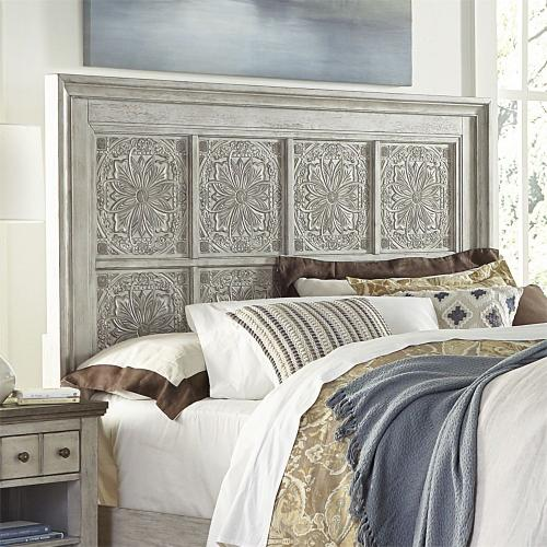 Queen Decorative Panel Headboard