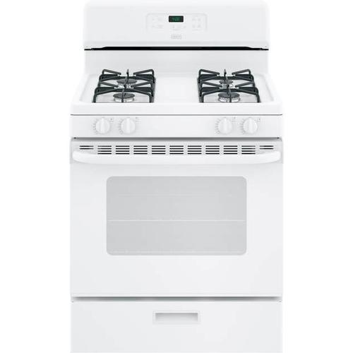Crosley Free-standing Gas Range - White & Black