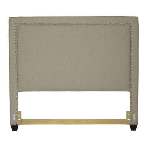 King Nail Head Panel Headboard