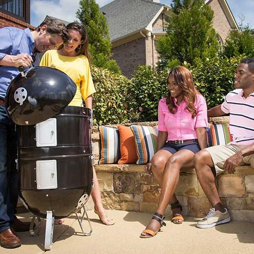 Napoleon BBQ - Apollo® 300 Charcoal Grill and Water Smoker