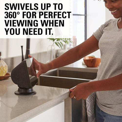Black Amazon Echo Show 8 Tilt & Swivel Stand