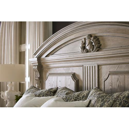Arch Salvage California King Chambers Panel Bed