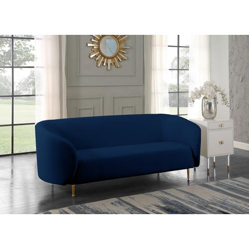 "Lavilla Velvet Sofa - 88"" W x 35.5"" D x 33"" H"